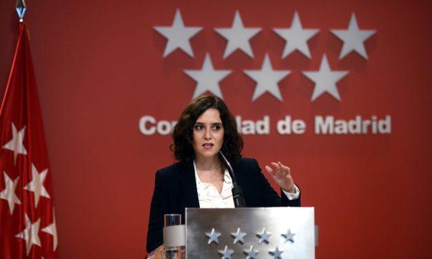 Madrid aplicará el toque de queda de 00 a 6 horas y continuará con sus restricciones por zonas básicas de salud