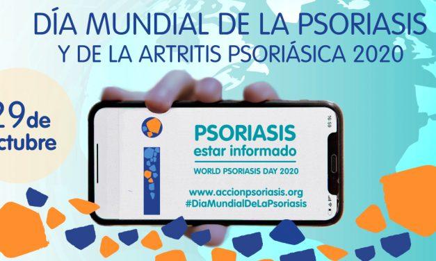«Estar informado»: lema del Día Mundial de la Psoriasis y de la Artritis Psoriásica 2020