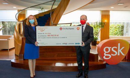 GSK entrega más de 69.000 euros a la campaña solidaria 'Recuperando sonrisas'