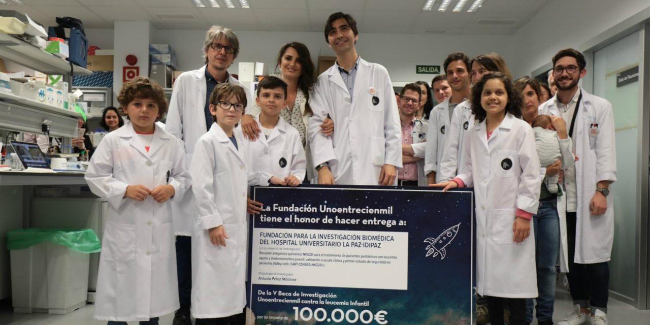 Un proyecto de tratamiento para niños con leucemia liderado por investigadores de La Paz obtiene evidencia preclínica