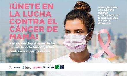Cofares lanza una mascarilla quirúrgica rosa para apoyar la investigación en el cáncer de mama