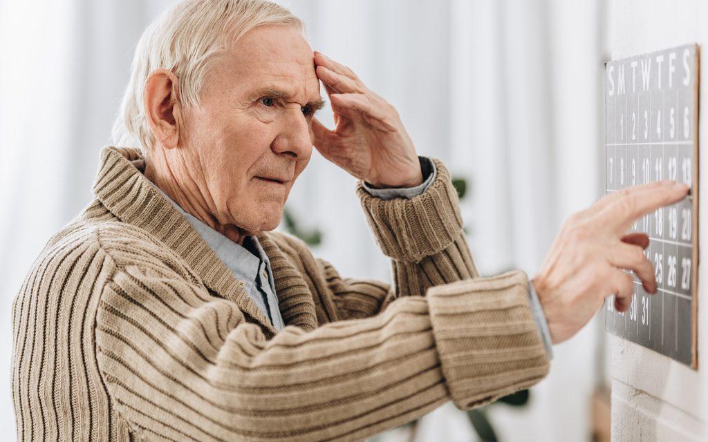 La pérdida de interés podría ser un signo de riesgo de demencia