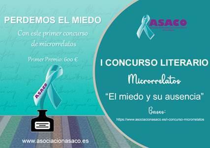 ASACO convoca su primer concurso de microrrelatos, ¡participa!