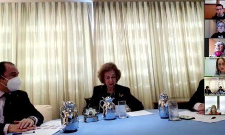 La reina Sofía agradece la labor de CEAFA con las personas afectadas de Alzheimer en la conmemoración de su 30 aniversario