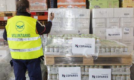 Fundación Cofares dona 15.000 euros en alimentación infantil al Banco de Alimentos de Madrid