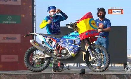 Daniel Albero, primer piloto con diabetes en terminar el Rally Dakar, colabora con Novo Nordisk