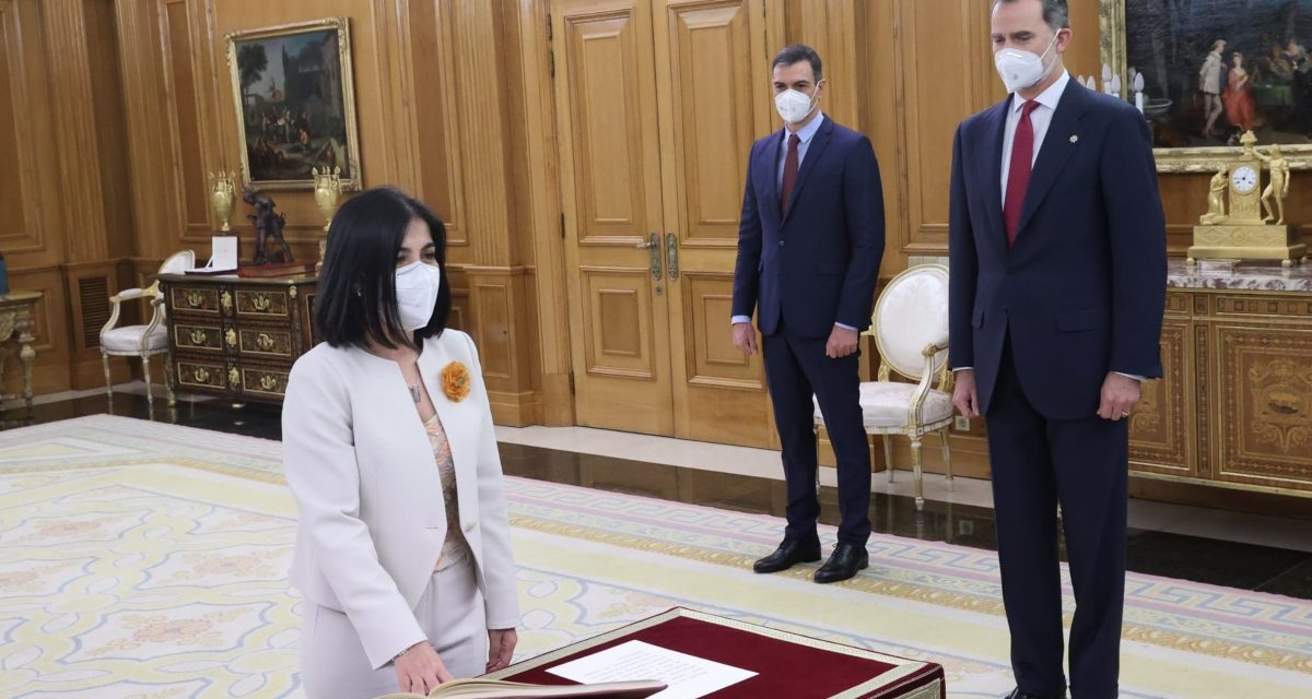 El Instituto ProPatiens felicita a Carolina Darias por su nombramiento como ministra de Sanidad