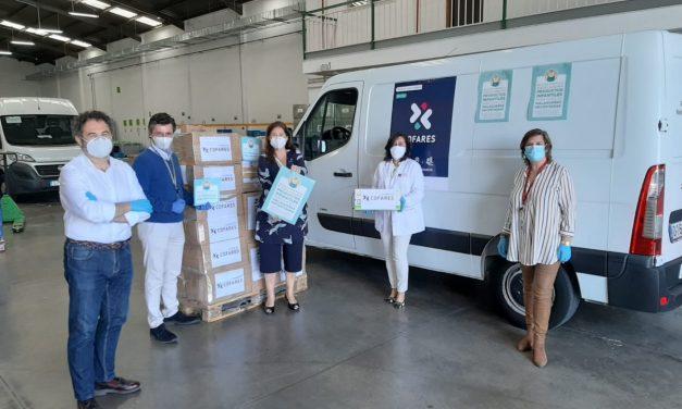 La Fundación Cofares hace 100.000 donaciones de fármacos, alimentos y material sanitario para paliar la pandemia