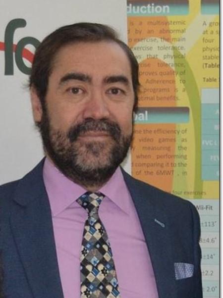 """Fernando Moreno Pizarro presidente de la Asociacion Madrilena de Fibrosis Quistica - Vivir con fibrosis quística es """"una lucha continua"""" que requiere de un compromiso vital con la salud"""