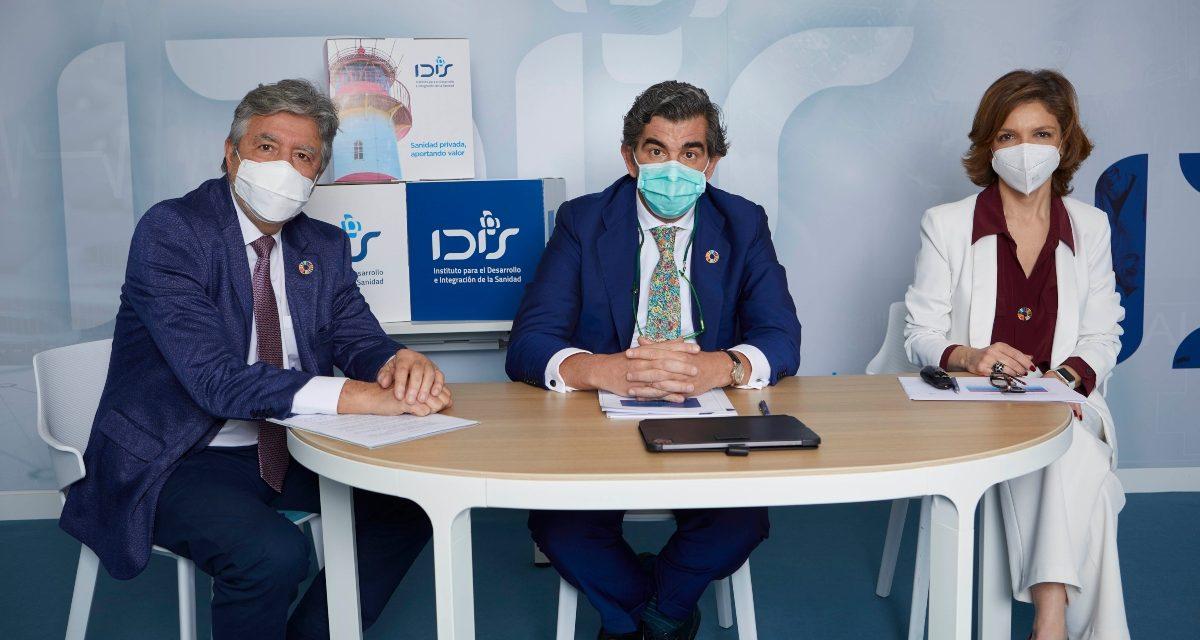 El 29,2% del gasto sanitario en España se produce en la privada, según un estudio de la Fundación IDIS
