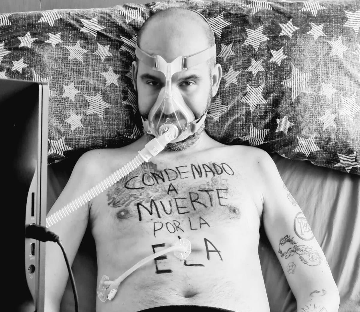 """Jordi sabate 6 1 - """"Estuve tres años de médico en médico hasta que, en 2017, me dieron el diagnóstico definitivo de ELA"""""""