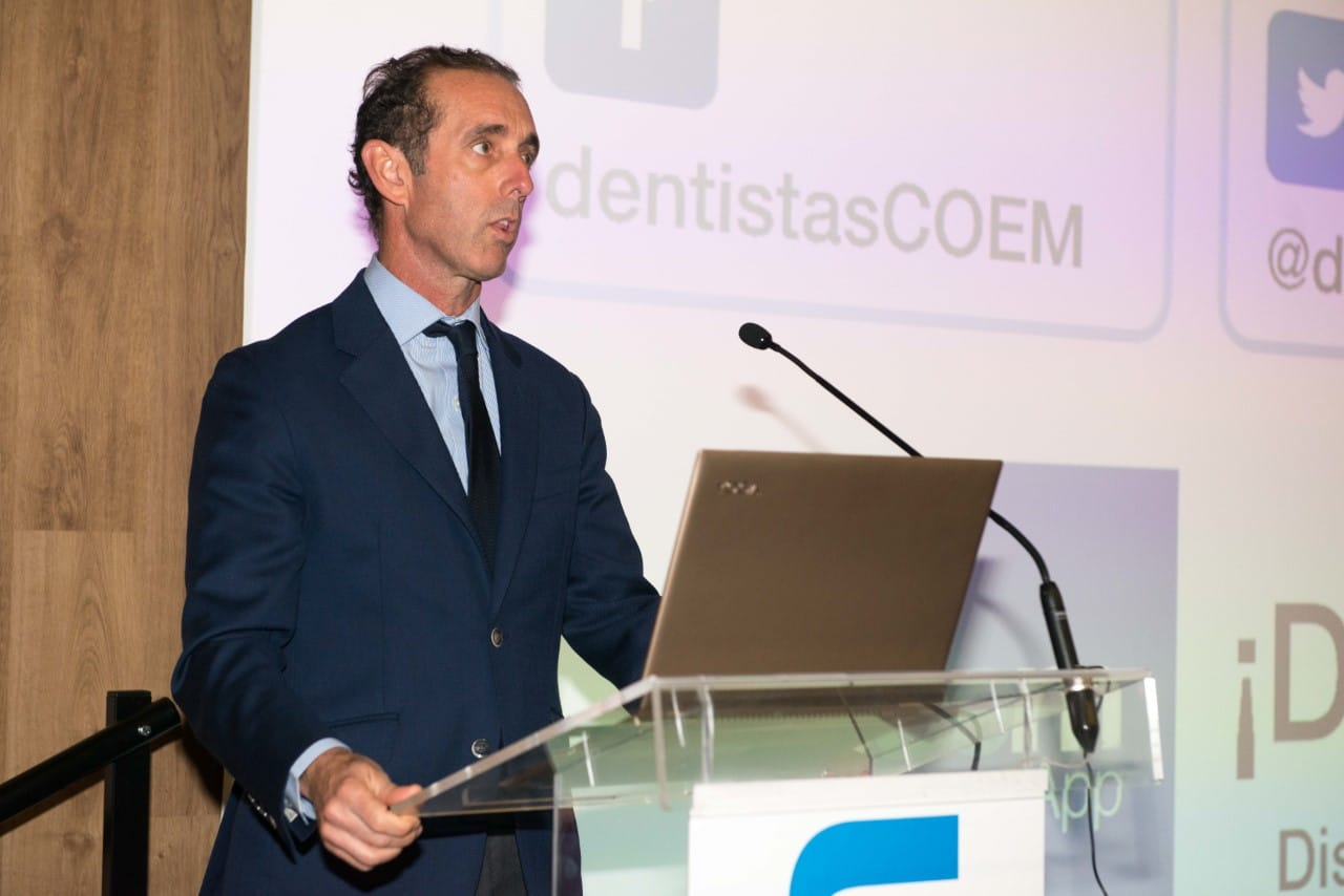 """Antonio Montero presidente del COEM Colegio de Odontologos Madrid 2 - """"La Administración debía aumentar progresivamente la cobertura de prestaciones odontológicas, sobre todo para los sectores más desfavorecidos"""""""