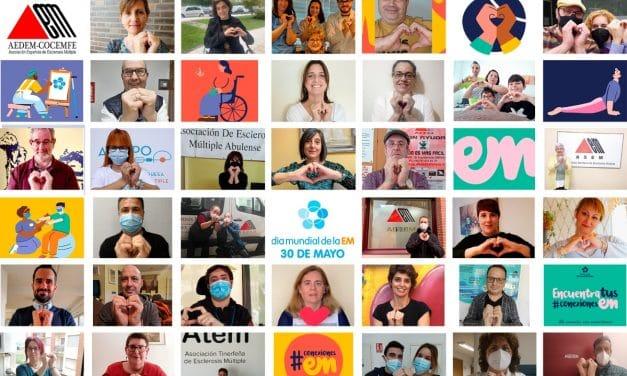 'Conexiones EM', campaña de AEDEM-COCEMFE para conmemorar el Día Mundial de la Esclerosis Múltiple