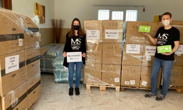 Cofares dona un millón y medio de mascarillas a diferentes ONGs para ayudar en la contención de la Covid-19