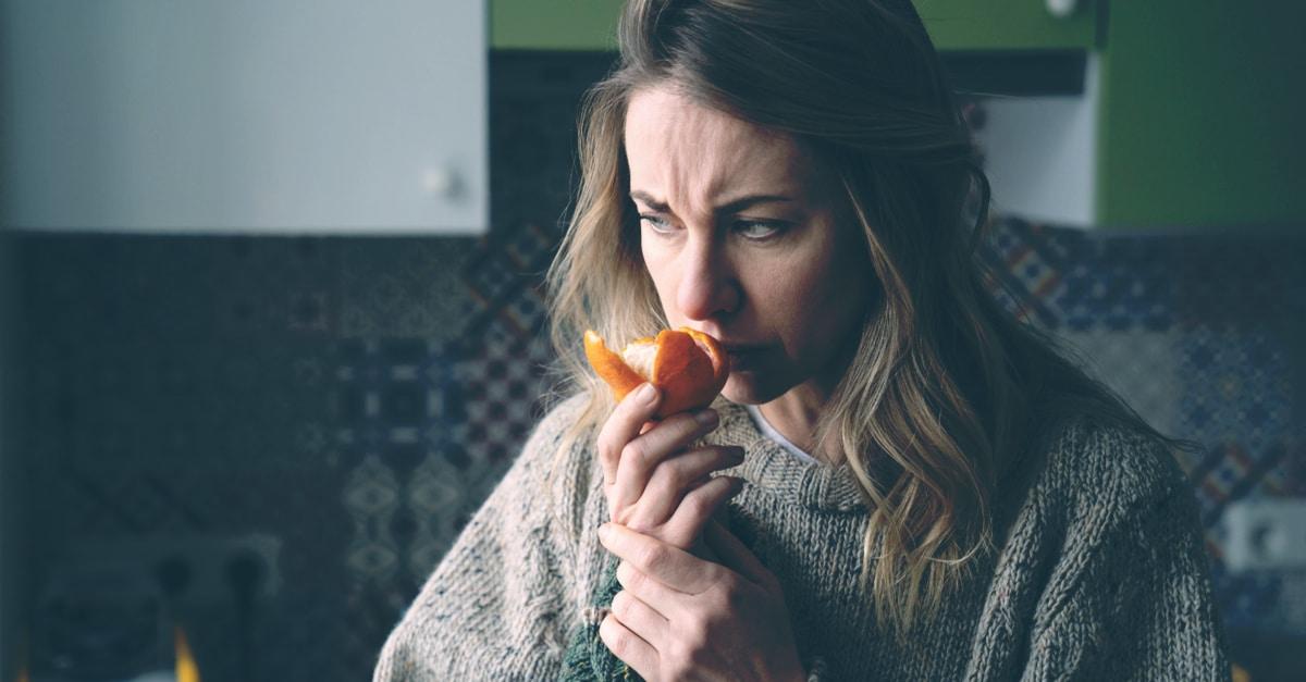 Los infectados leves con COVID-19 sufren reducción del gusto y olfato persistente